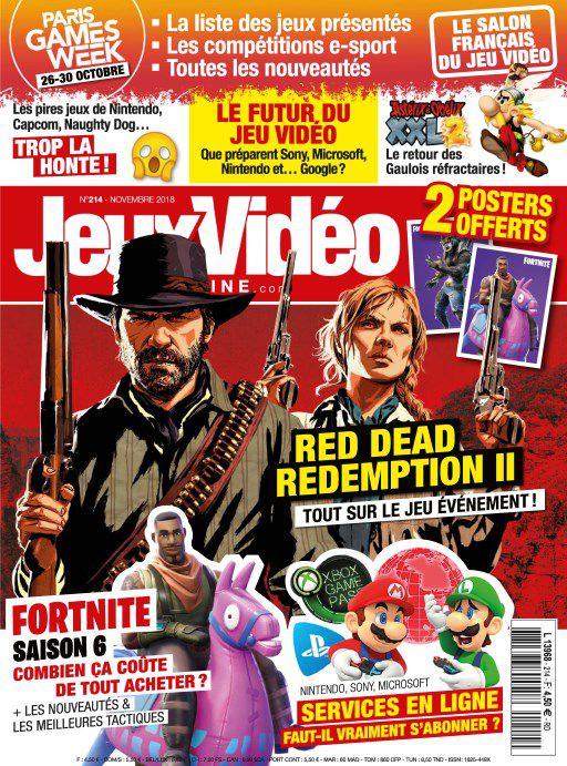 Jeux Vidéo Magazine – Novembre 2018