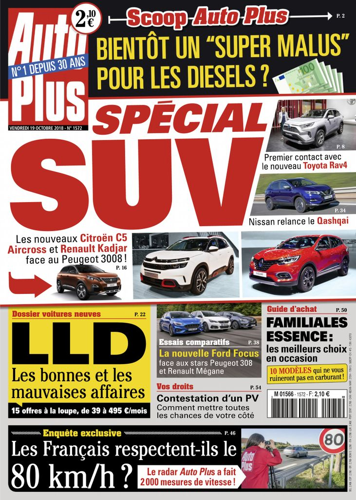 Auto Plus France – 19 Octobre 2018