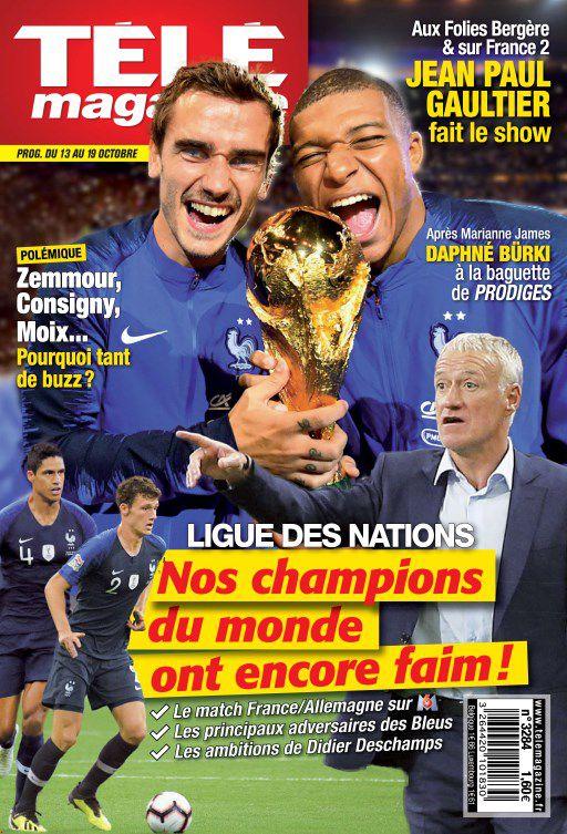 Télé Magazine – 13 Octobre 2018