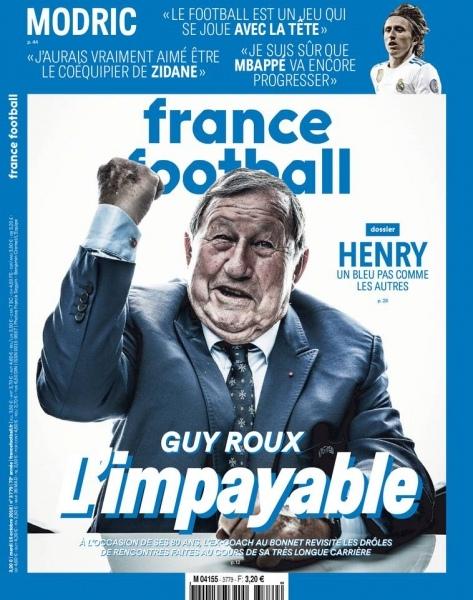 France Football – 16 Octobre 2018