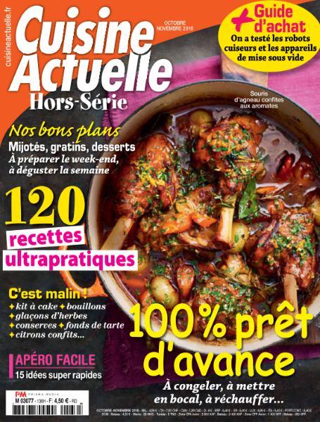Cuisine Actuelle Hors-Série – Octobre-Novembre 2018