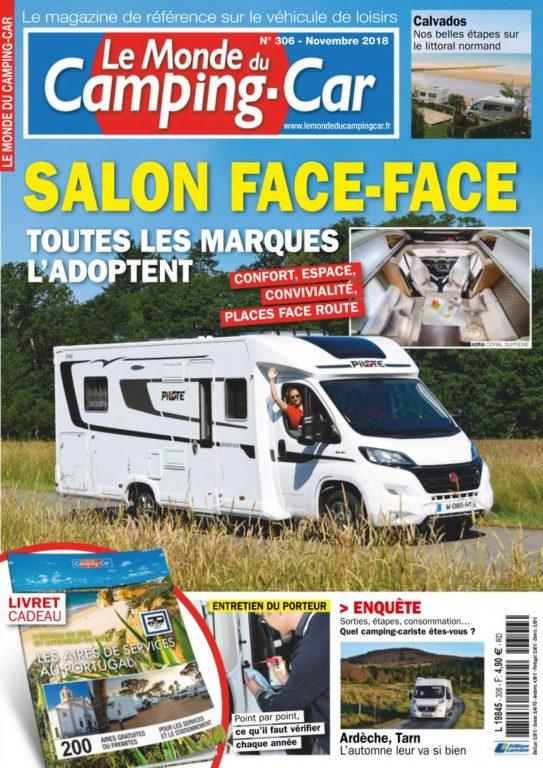 Le Monde Du Camping-Car – Novembre 2018