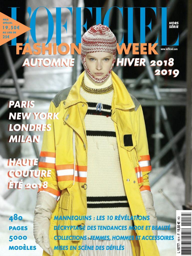 Fashion Week – Octobre 2018