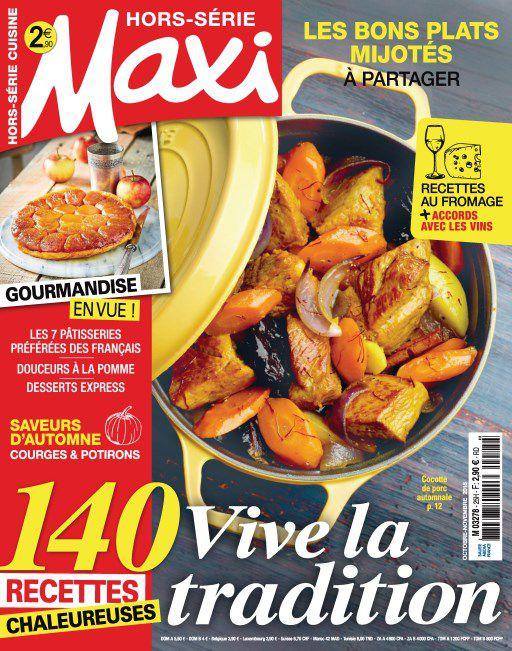Maxi Hors-Série Cuisine – Octobre-Novembre 2018
