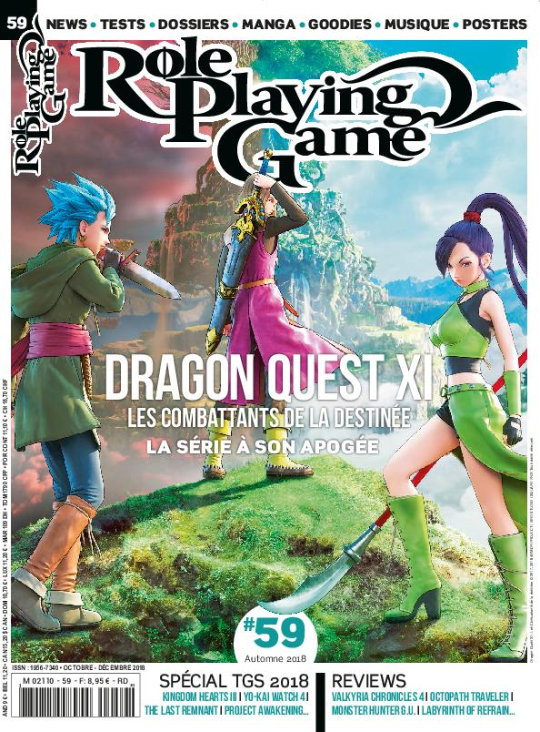 Role Playing Game – Octobre 2018