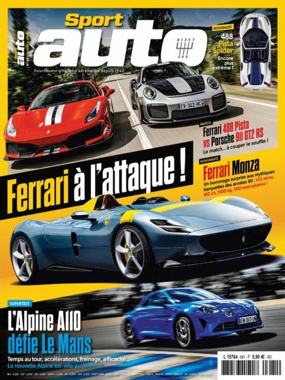 Sport Auto France – Octobre 2018