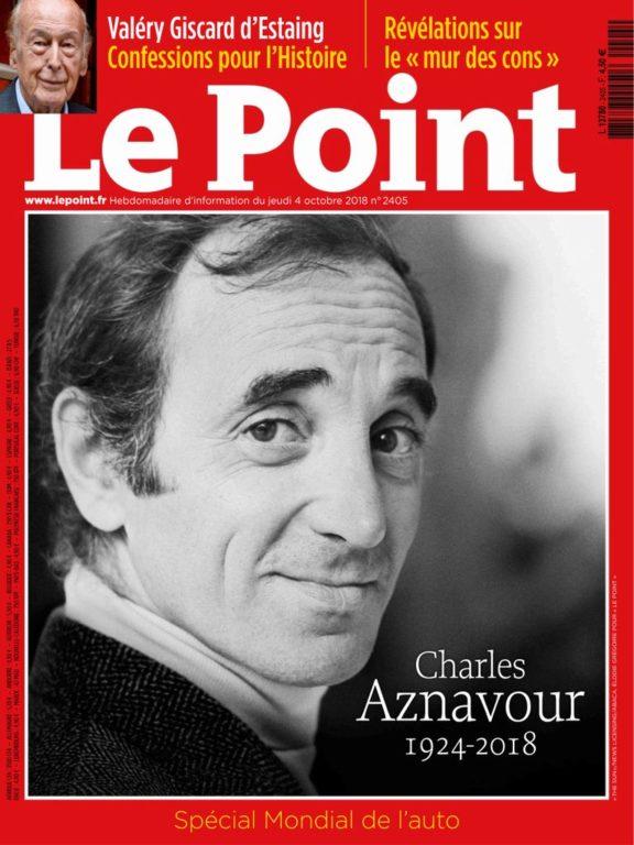Le Point – 04 Octobre 2018
