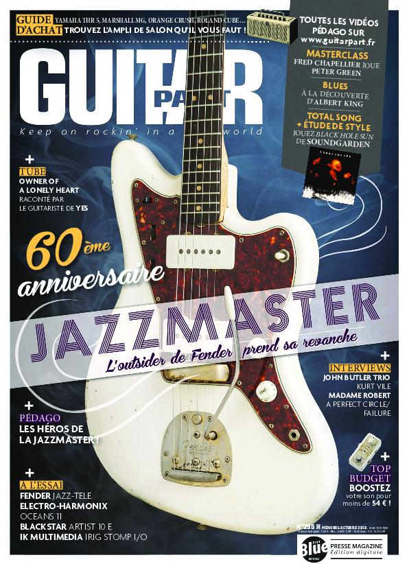 Guitar Part – Octobre 2018