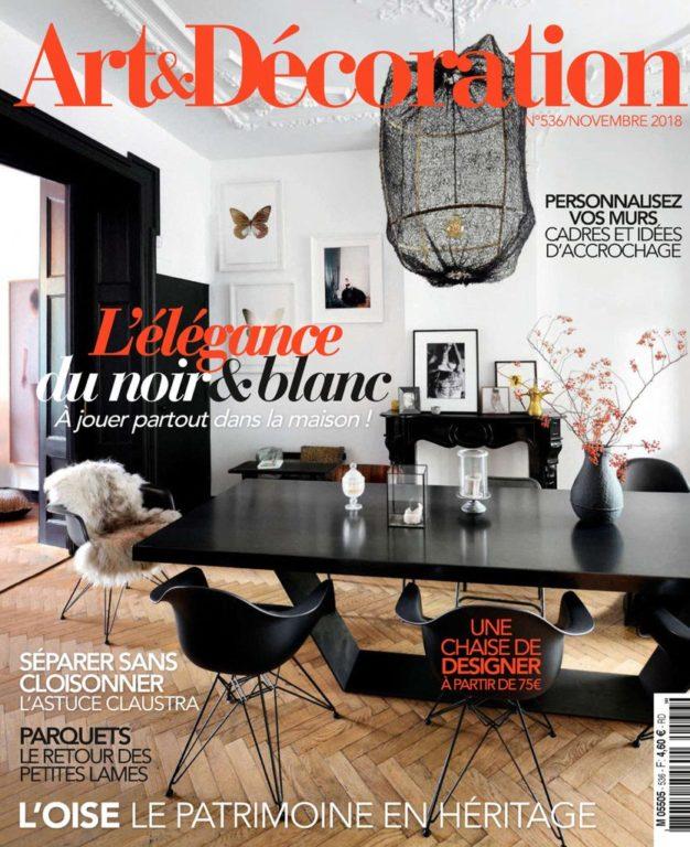 Art & Décoration – Novembre 2018