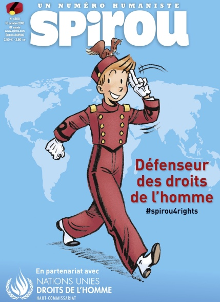 Le Journal De Spirou – 10 Octobre 2018