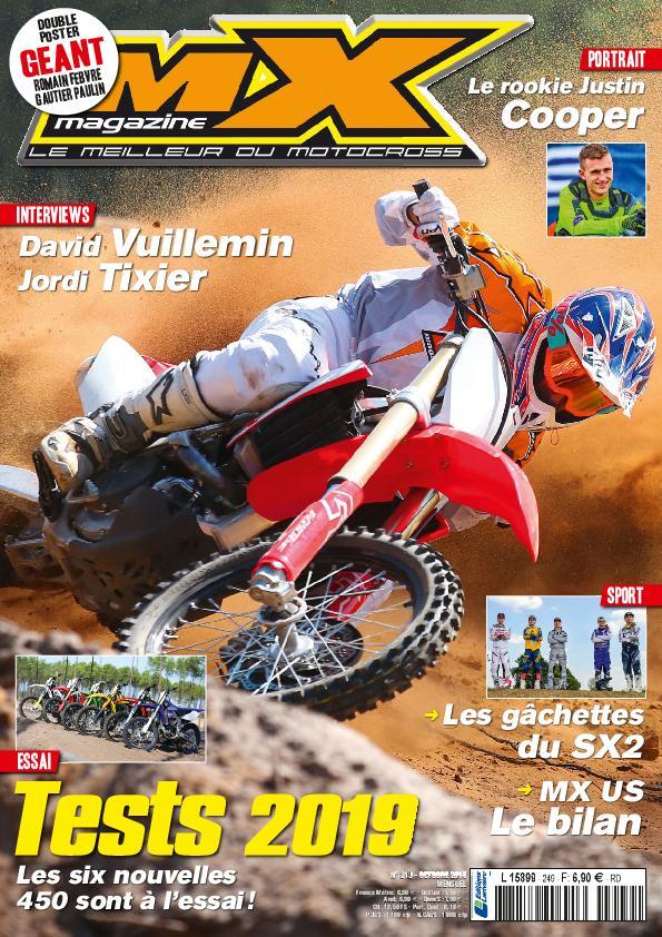 MX Magazine – Octobre 2018