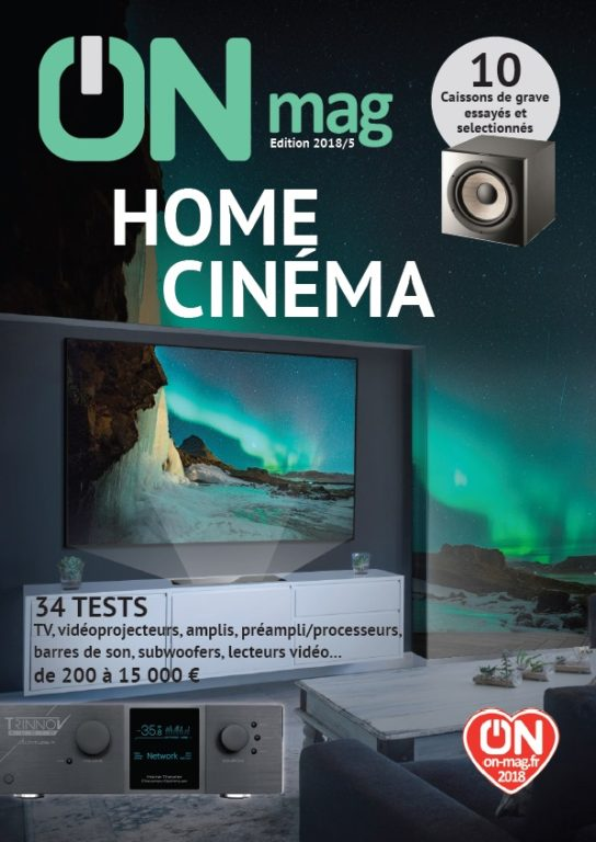 ON Magazine – Guide Home Cinéma 2018