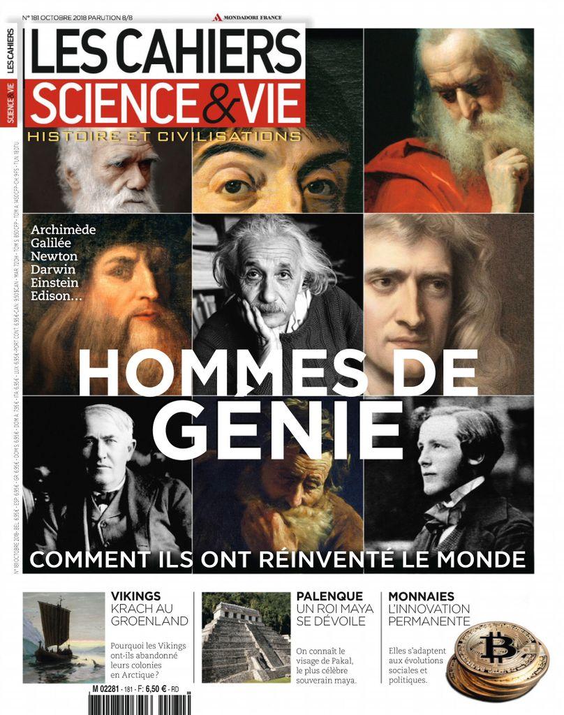 Les Cahiers De Science & Vie – Octobre 2018