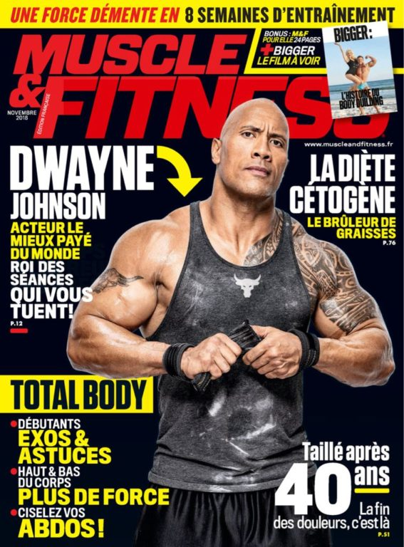 Muscle & Fitness France – Novembre 2018