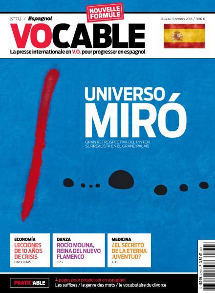 Vocable Espagnol – 4 Octobre 2018