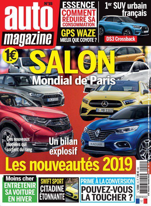 Auto Magazine – Novembre-Décembre 2018