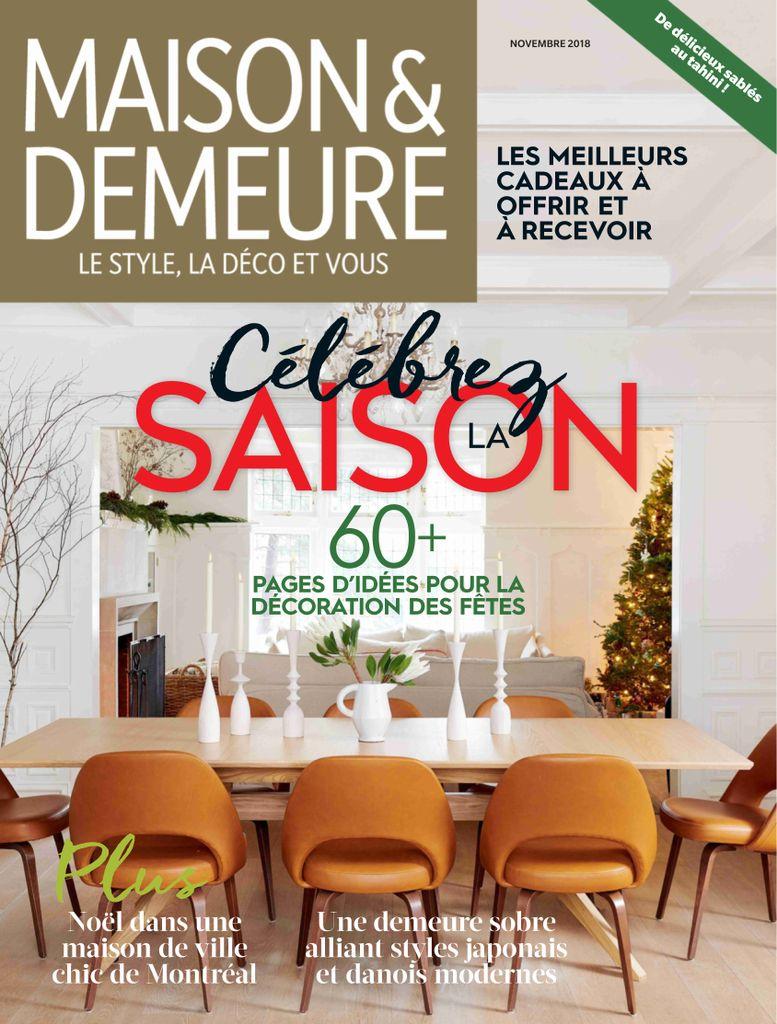 Maison & Demeure – Novembre 2018