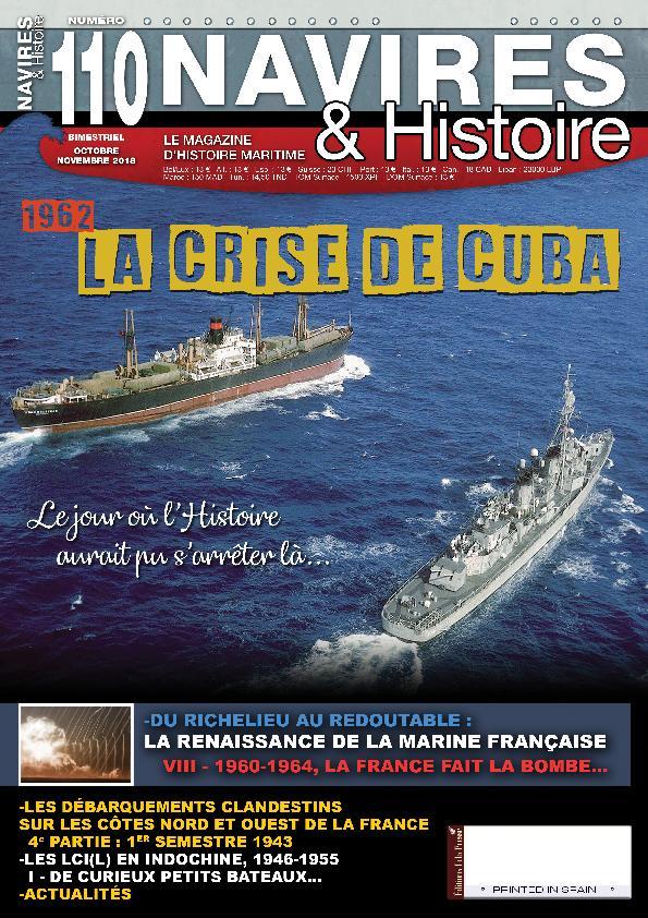 Navires & Histoire – Octobre-novembre 2018