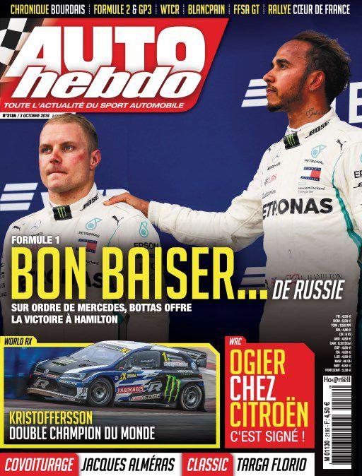 Auto Hebdo – 3 Octobre 2018