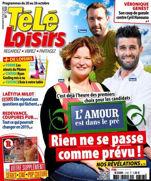 Télé Loisirs – 15 Octobre 2018