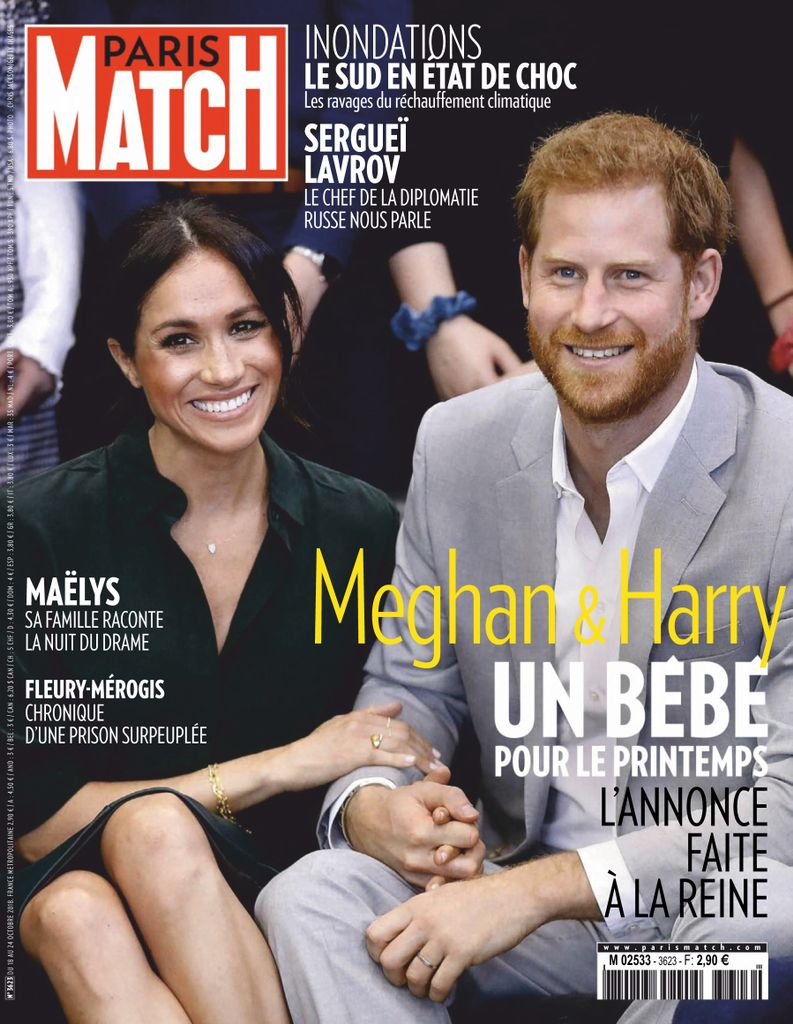 Paris Match – 18 Octobre 2018