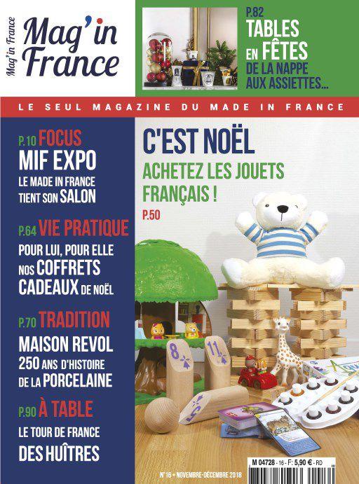 Mag In France – Novembre-Décembre 2018
