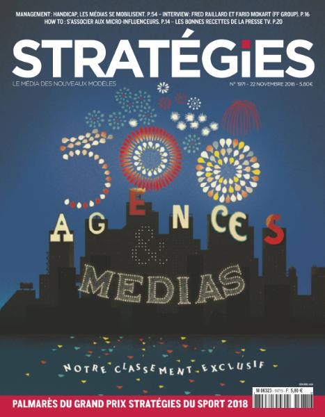 Stratégies – 22 Novembre 2018