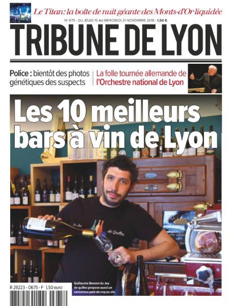 Tribune De Lyon – 15 Novembre 2018