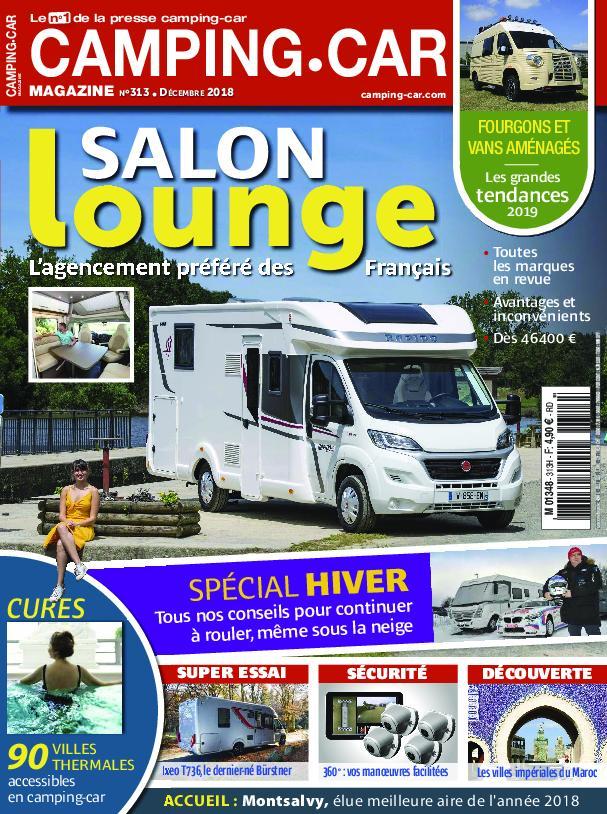 Camping-Car Magazine – Décembre 2018