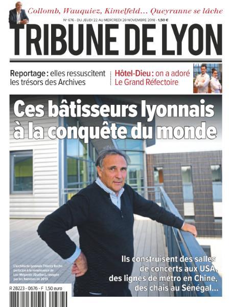 Tribune De Lyon – 22 Novembre 2018