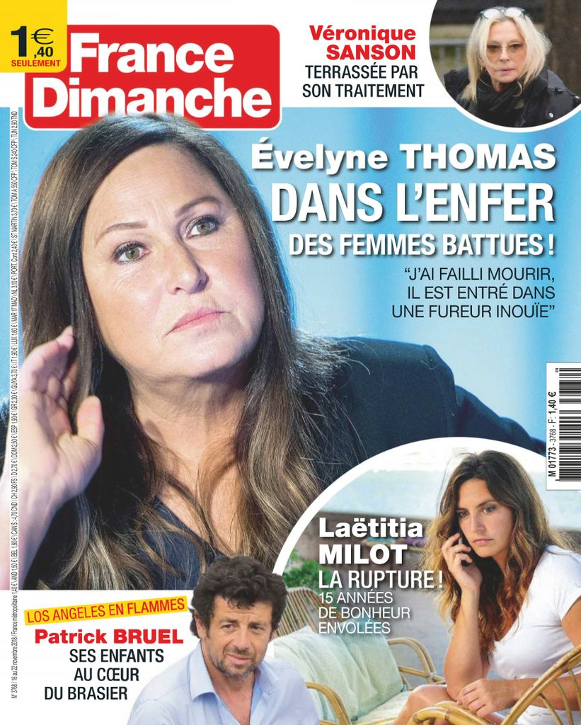 France Dimanche – 16 Novembre 2018