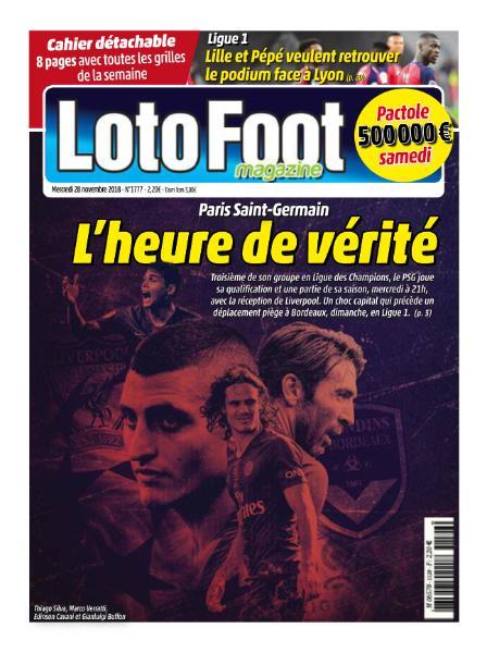 Loto Foot Magazine – 28 Novembre 2018