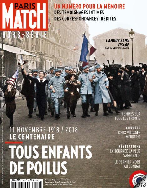 Paris Match Hors-Série – Novembre-Décembre 2018