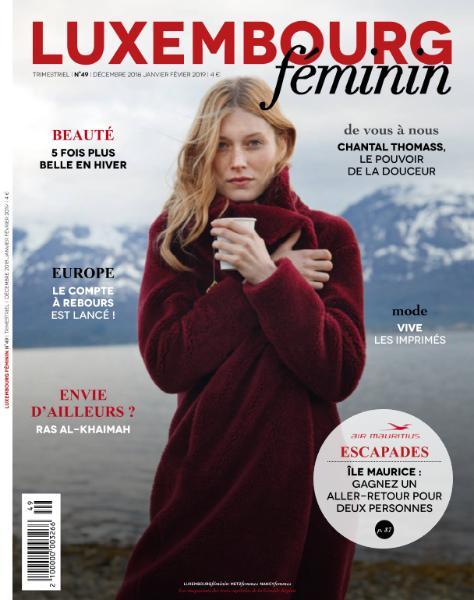 Luxembourg Féminin – Décembre 2018 – Février 2019