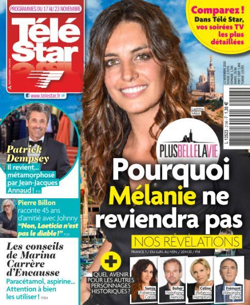 Télé Star – 12 Novembre 2018