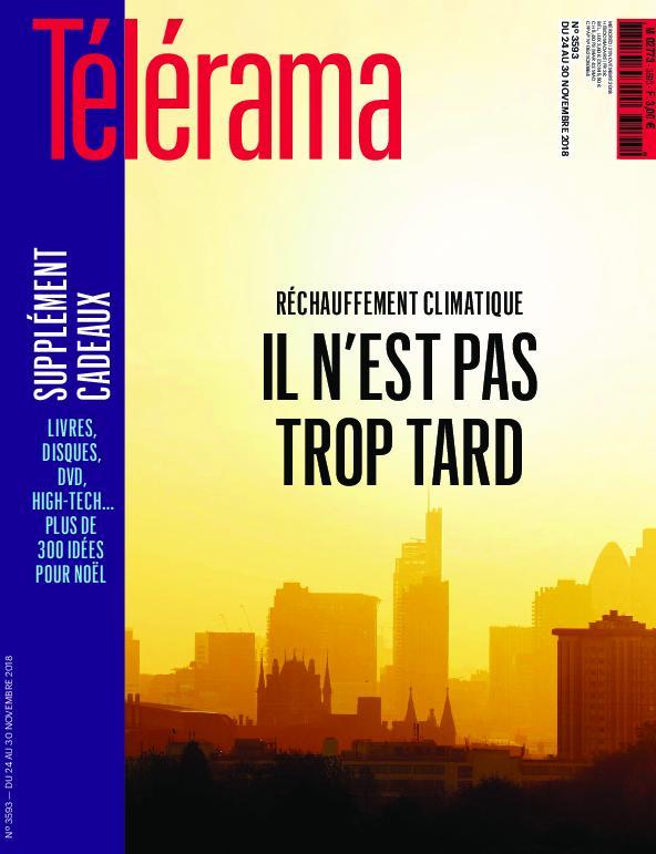 Télérama Magazine – 24 Novembre 2018