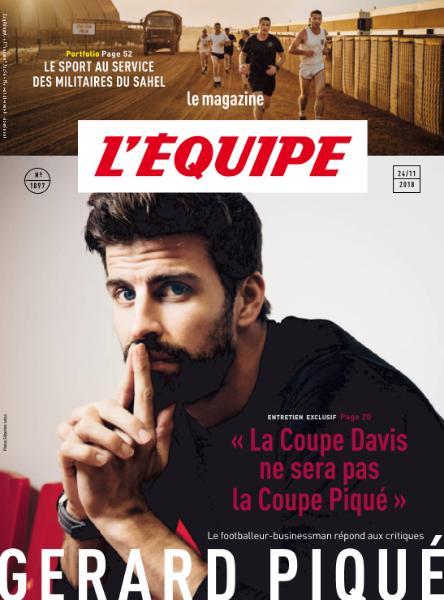 L'Equipe Magazine – 24 Novembre 2018