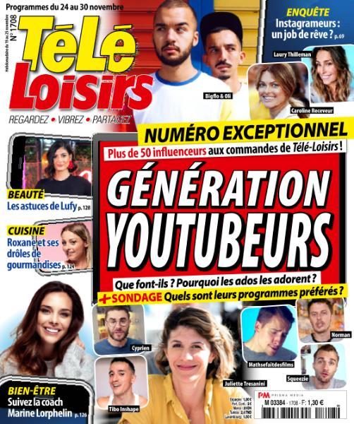 Télé Loisirs – 19 Novembre 2018