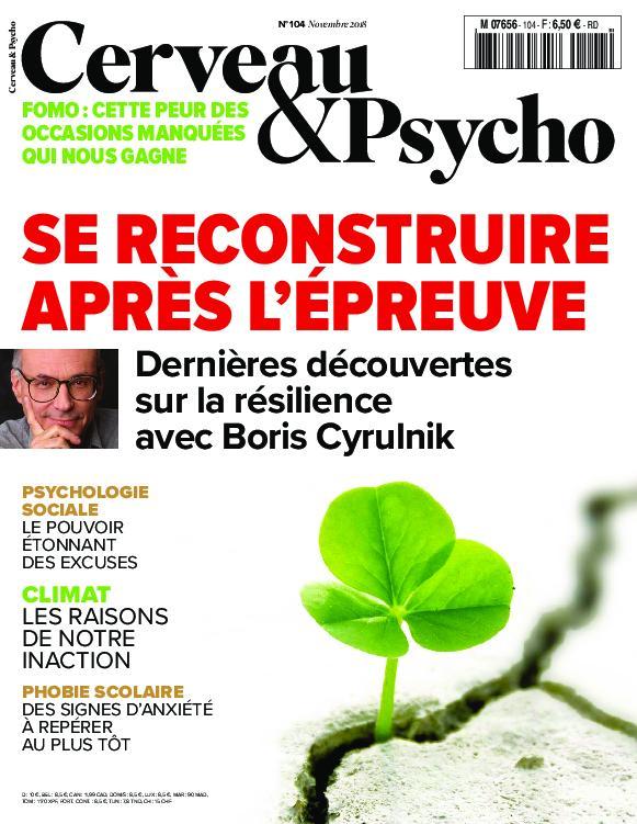 Cerveau & Psycho – Novembre 2018