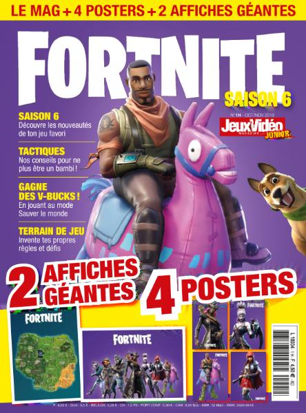 Jeux Vidéo Magazine Junior Hors-Série – Octobre-Novembre 2018