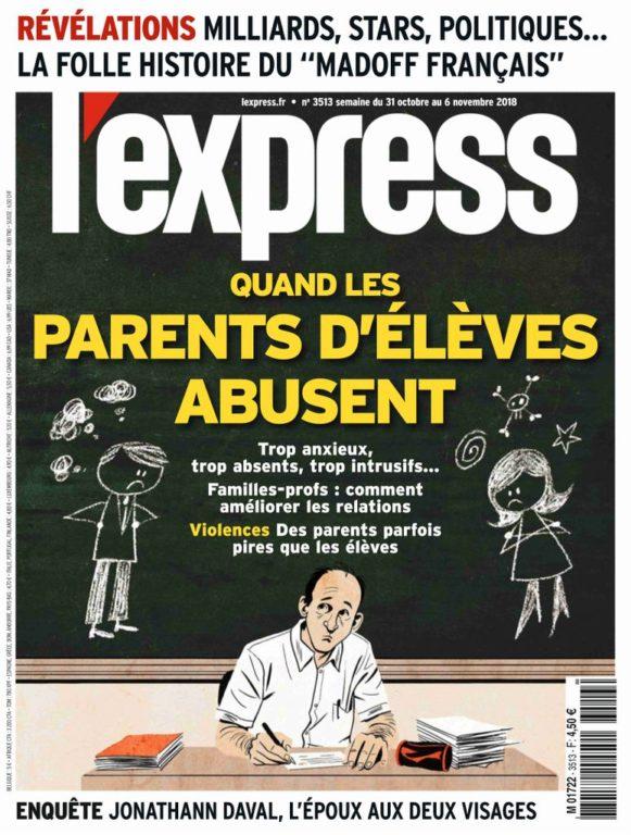 L'Express – 31 Octobre 2018