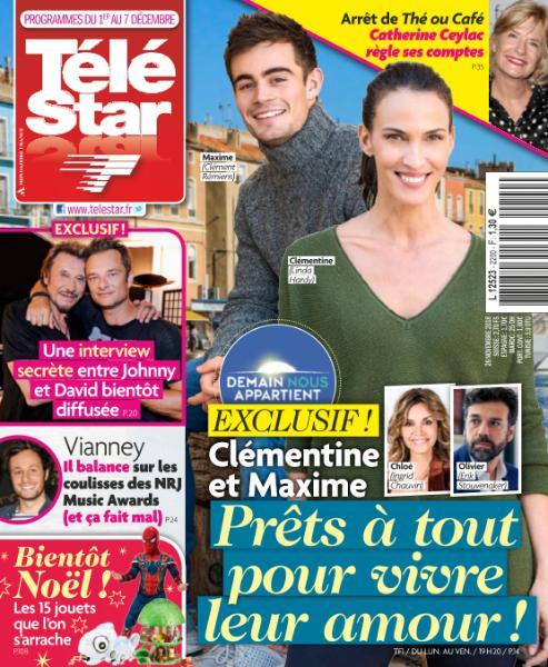 Télé Star – 26 Novembre 2018