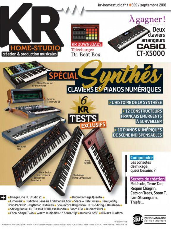 Keyboard Recording Home-Studio – Septembre 2018