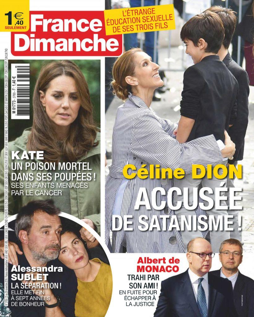 France Dimanche – 23 Novembre 2018