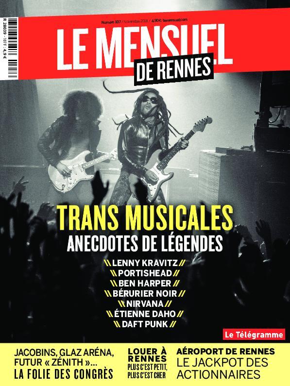 Le Mensuel De Rennes – Novembre 2018