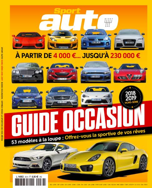 Sport Auto Hors-Série – Guide Occasion 2018-2019