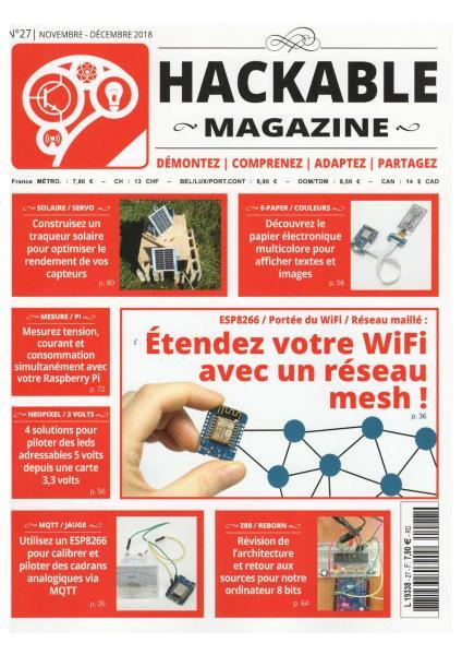 Hackable Magazine – Novembre-Décembre 2018