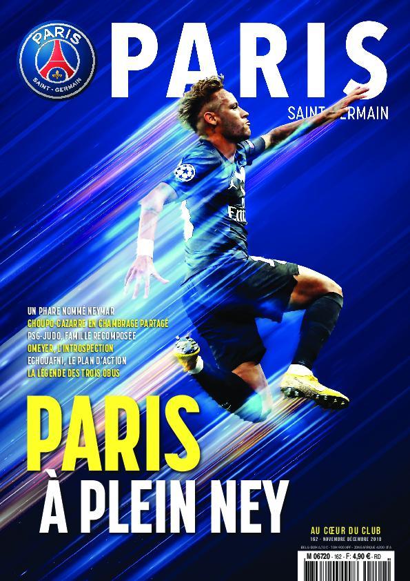 Paris Saint-Germain Le Magazine – Décembre-janvier 2018