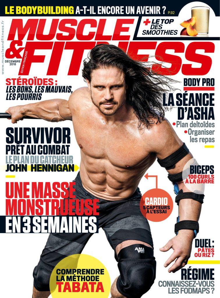 Muscle & Fitness France – Décembre 2018