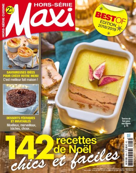 Maxi Hors-Série Cuisine – Décembre 2018 – Janvier 2019